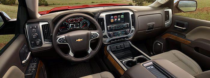 2016 chevy silverado 1500 interior,
