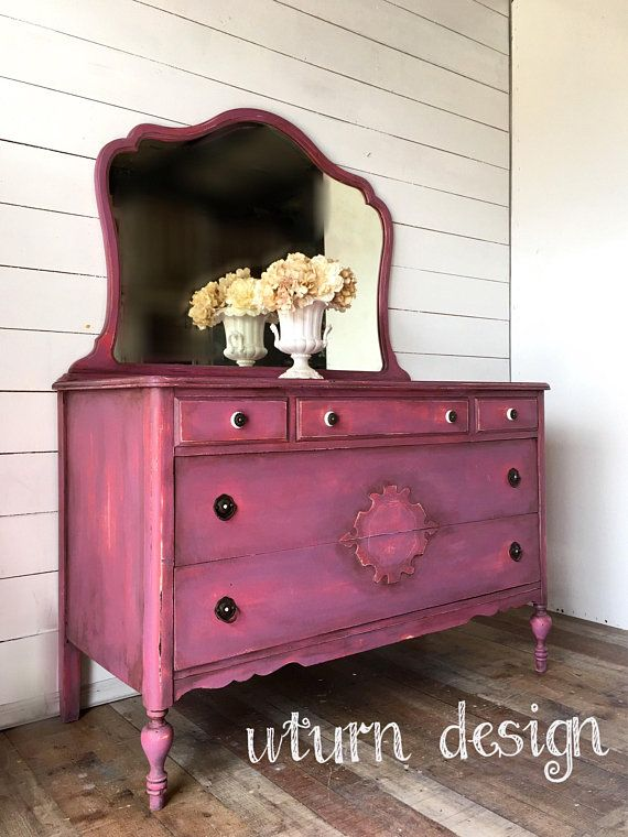 1078 best Pink & Coral Painted Furniture images on Pinterest ...