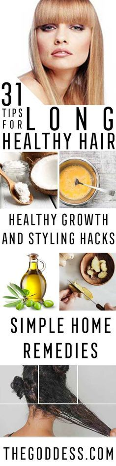 Tips and Tricks For Long, Healthy Hair - Healthy Hair Growth Tips and Styling Tricks - Home Remedies and Curling Techniques for How To Grow the Best Hairdos - Simple Pony Tails, Bun Tutorials - Tips for Colour, Bangs and Gorgeous Locks - https://thegoddess.com/tips-and-tricks-for-long-hair