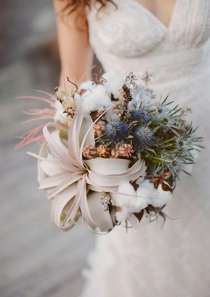RAMOS DE NOVIA DE FLOR DE ALGODÓN - Blog de bodas de Una Boda Original