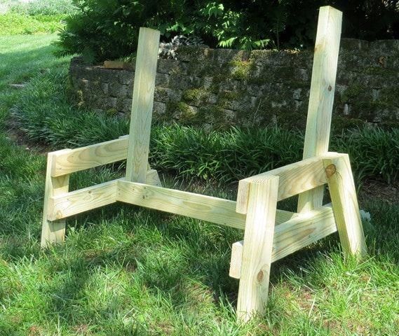 Chair Dolly For Stackable Chairs Luxurychairsforoffice Purplechair In 2020 Garden Bench Diy Diy Bench Outdoor Diy Bench
