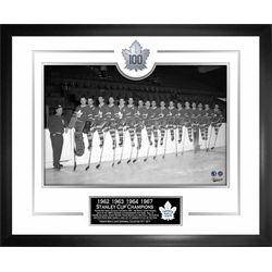 Toronto Maple Leafs Framed 1960's Team 100th Anniversary