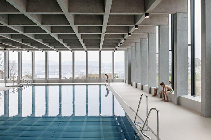 Gallery of Swimming Pool Allmendli / illiz Architektur - 1