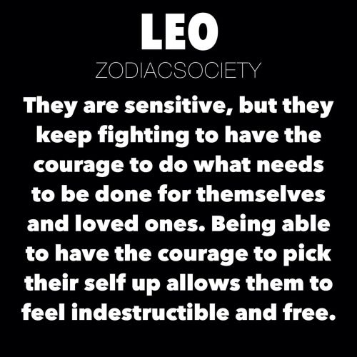 leo zodiac astrology leo facts Leo Traits zodiacsociety •