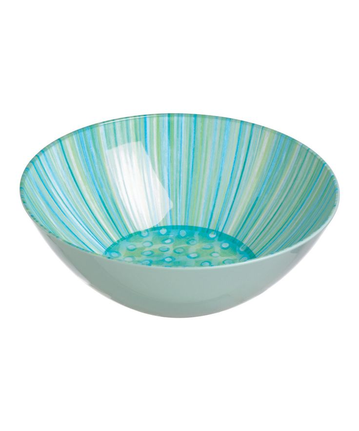 Another great find on #zulily! Aqua & Teal Bowl by Grasslands Road #zulilyfinds