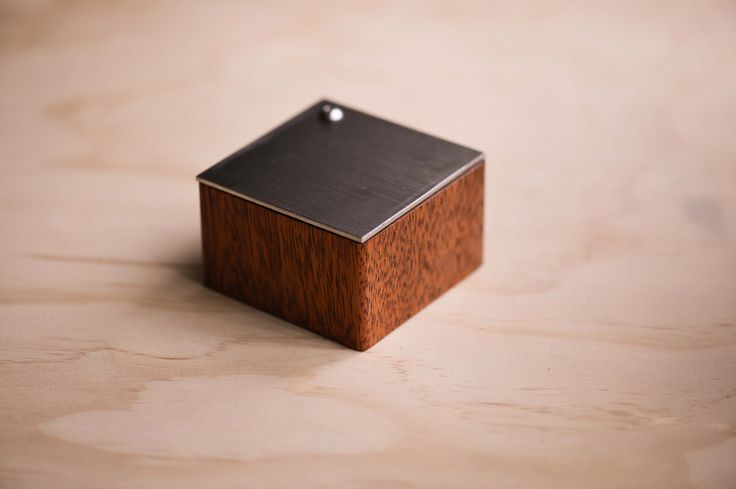 We're super excited to share our new handcrafted ring boxes! - made from beautiful Merbau hardwood, a stainless steel lid and the inside is lined with green moss.  Available with a matte black or brushed stainless steel lid. . . www.thewoodencircleco.etsy.com