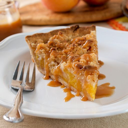Salted Caramel Peach Crumble Pie: Desserts Pies Cobblers Tarts, Salts Caramel, Peaches Crumble Pies, Peach Crumble Pie, Peaches Pies, Food And Drinks, Cooking Blog, Caramel Peaches, Salted Caramels