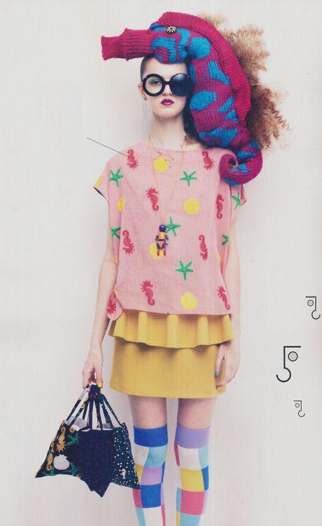 she is SO COOL!Inspiration, Style, Soen Editorial, Japan Fashion Magazines, Fashion Design, Bizarre Fashion, New Fashion, Magazines Japan Fashion, Girls Fashion