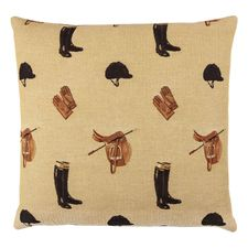 HINES OF OXFORD Kudde 'Equestrian' Beige