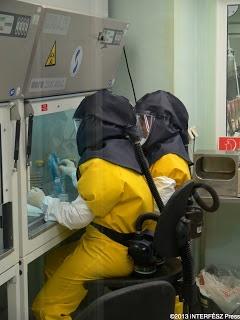 Bioterrorizmusra is felkészülve - Nemzeti Biztonsági Laboratórium - képgaléria