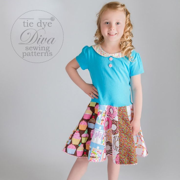 Image of Garnet Dress, Top, and Skirt for Knits and Wovens 1-10 years