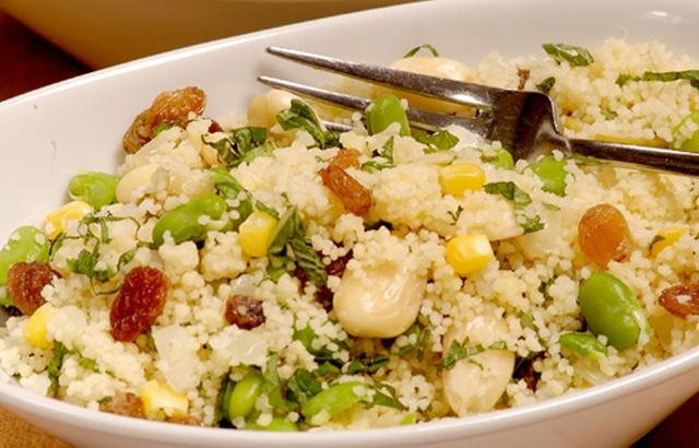 Brilliant summer recipe (and super easy!!): Paul Heathcote's couscous