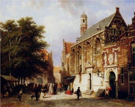 City View by Cornelis Springer
