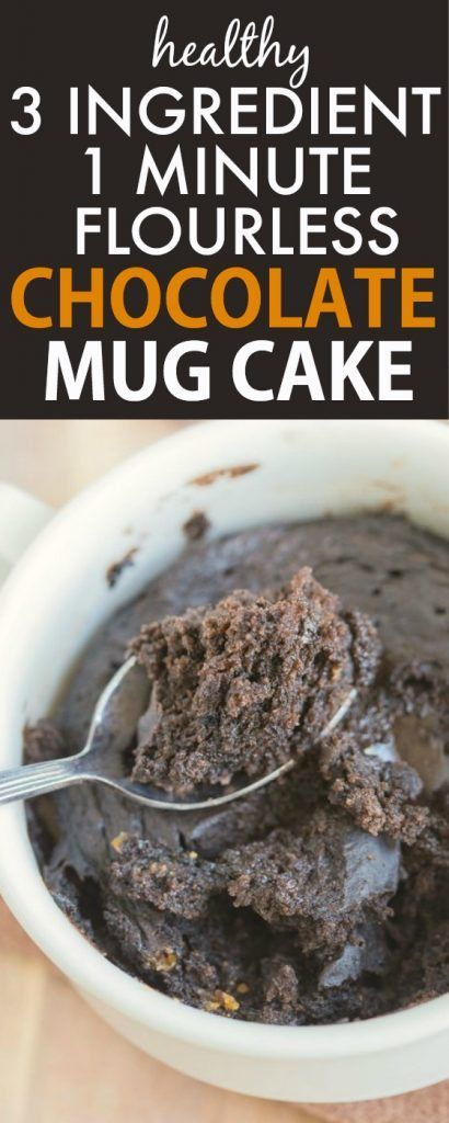Three Minute Chocolate Cake Low Carb