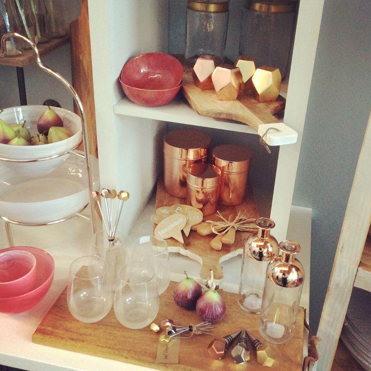 Copper & Gold #kitchen #entertaining #copper #gold #homewares #quinceyjac