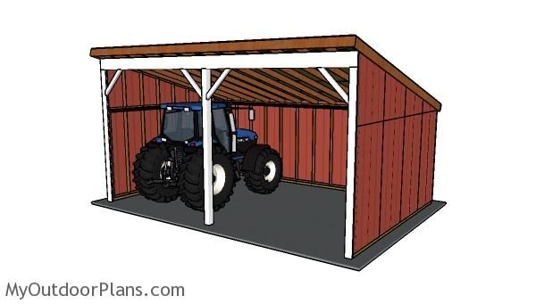 This Step By Step Diy Project Is About Tractor Shed Plans. This Is PART 2  Of The Shed, Where I Show You How To Build The Lean To Roof For The Tractor  Shed