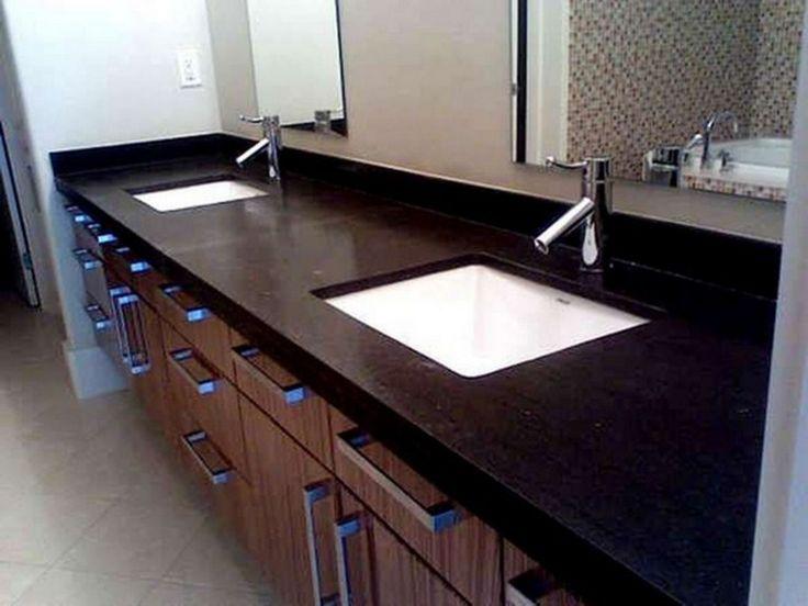 25 awesome honed black granite countertop ideas for awesome kitchen black granite countertops on kitchen decor black countertop id=26816