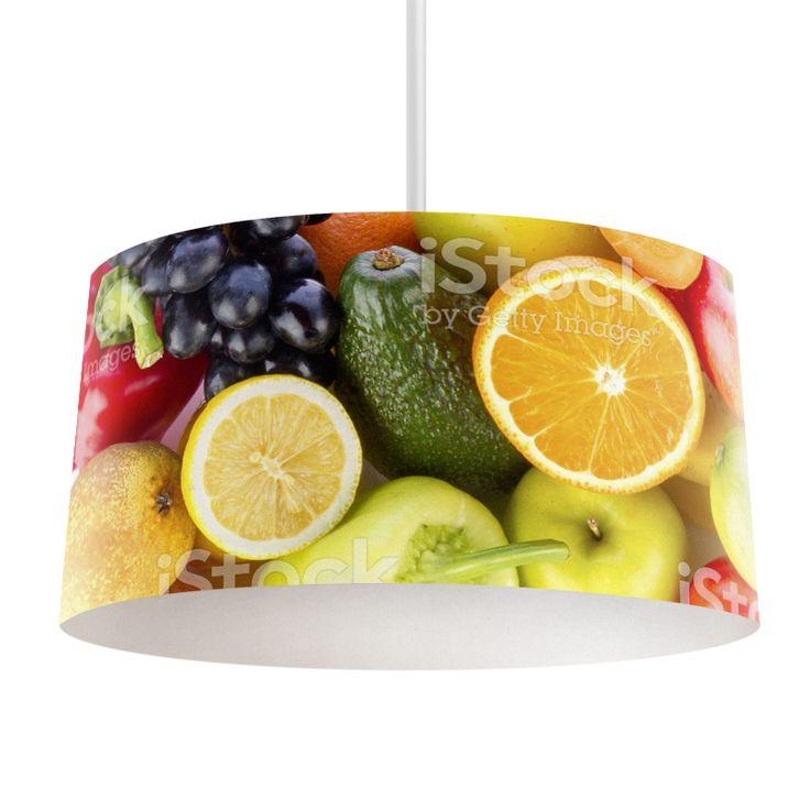 Lampenkap Gezond fruit | Bestel lampenkappen voorzien van digitale print op hoogwaardige kunststof vandaag nog bij YouPri. Verkrijgbaar in verschillende maten en geschikt voor diverse ruimtes. Te bestellen met een eigen afbeelding of een print uit onze collectie. #lampenkap #lampenkappen #lamp #interieur #interieurdesign #woonruimte #slaapkamer #maken #pimpen #diy #modern #bekleden #design #foto #fruit #gezond #voedsel #eten #sinaasappel #druiven #peer