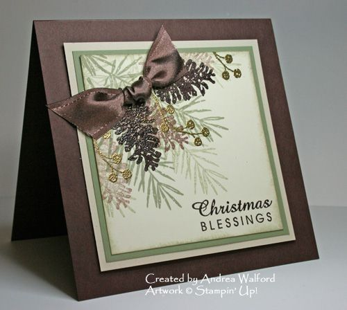 Christmas Blessings by aswalford - Cards and Paper Crafts at Splitcoaststampers by katie