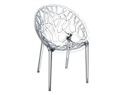 Καρέκλα πολυκαρμπονική διάφανη | puzzlehome