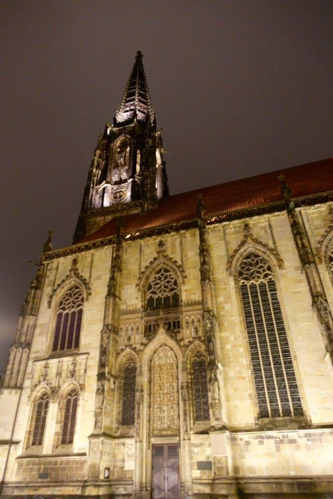 Nächtlicher Rundgang durch die Studentenstadt Münster.