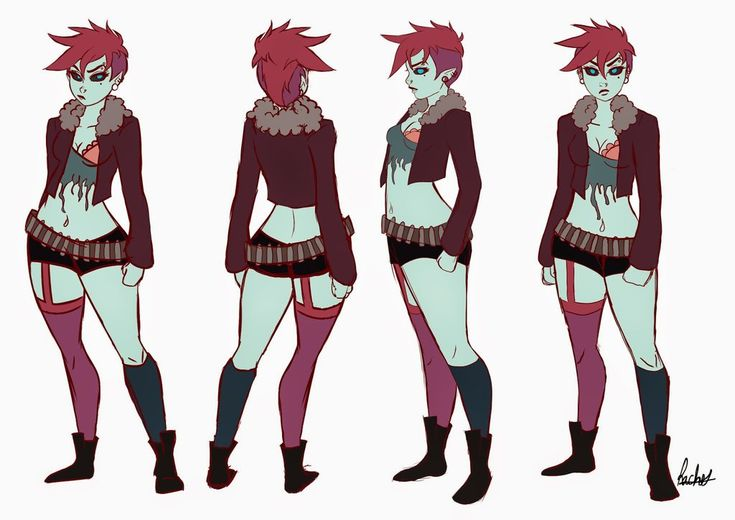 Character Turnaround Sheet by MoonEyez.deviantart.com on @DeviantArt