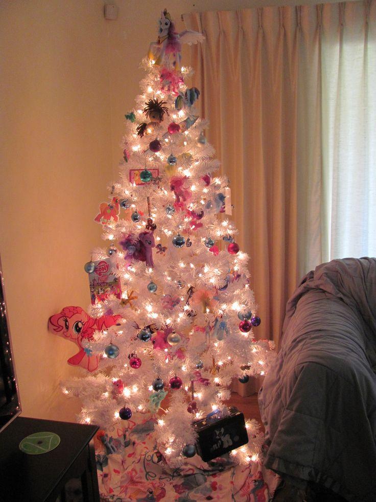 my little pony christmas tree   Magic winter   Pinterest