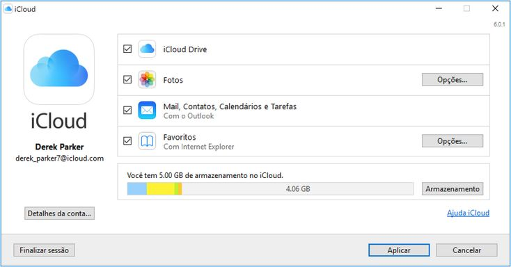 Configurar e usar o iCloud para Windows - Suporte da Apple