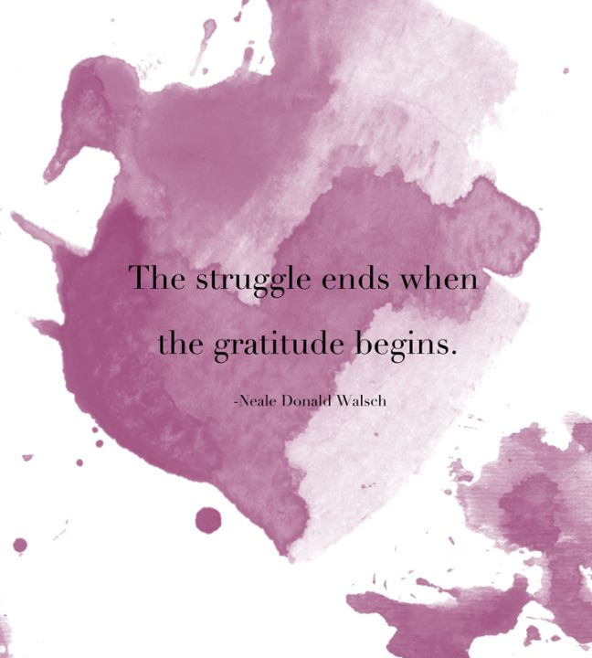 Monday's Meditation: On The Power of Gratitude // Live Simply by Annie
