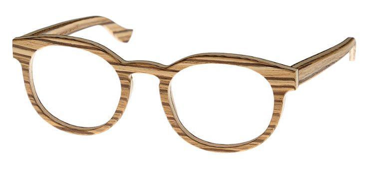 Lunettes bois optique créateur allemand wood and cotton
