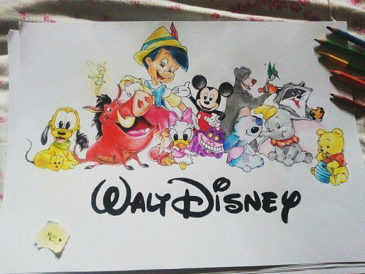 Disney characters 💕  instagram: 👉Kocatvvins 👈 👉HankaKocandrlova.drawings 👈