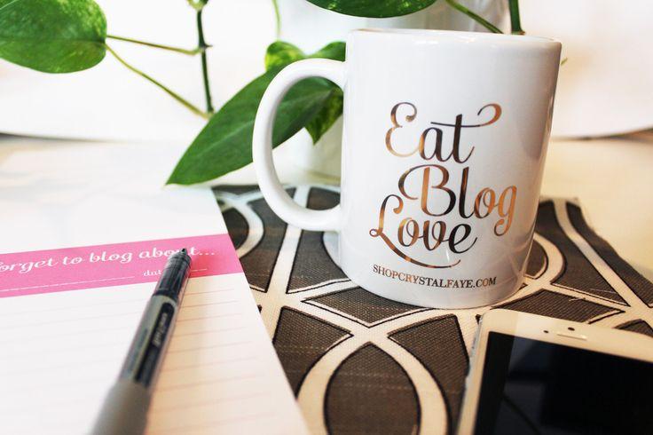 Eat Blog Love Coffee Mug