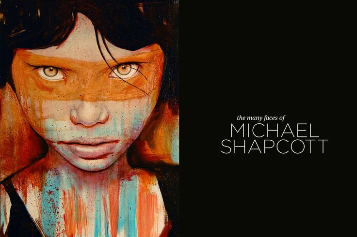 The Many faces of Michael Shapcott in Odalisque Magazine.