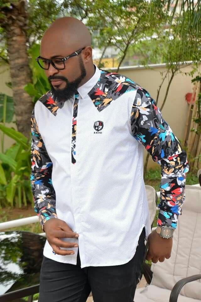 Chemises hommes Chemise Homme Fashion, Chemise Pagne Homme, Habit Homme, Modele  Pagne Africain