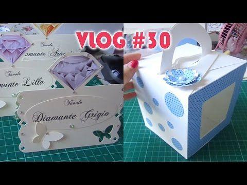 Segnaposto Matrimonio Youtube.Vlog 30 Segnaposto Matrimonio Gemme Scatola Cupcake Flo Coccole
