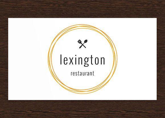 Lexington Restaurant Logo - PSD by Studio 365 Designs on @creativemarket