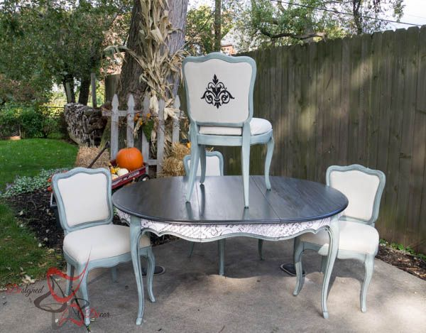 French Provincial Table Makeover! :: Hometalk