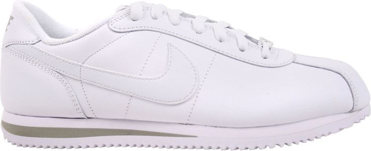 Nike Men's Leather Cortez Shoe - White - 14022980