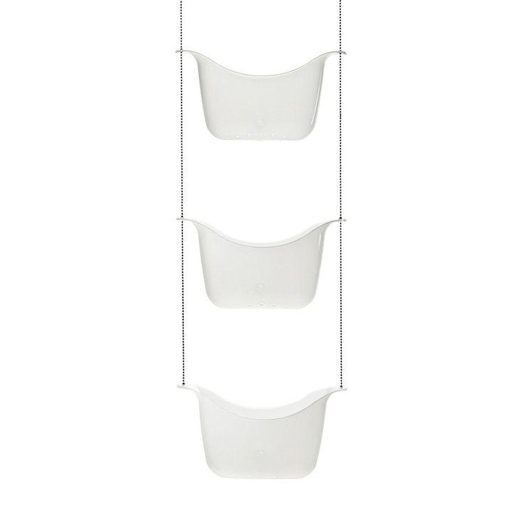 Umbra Basket Shower Caddy, White