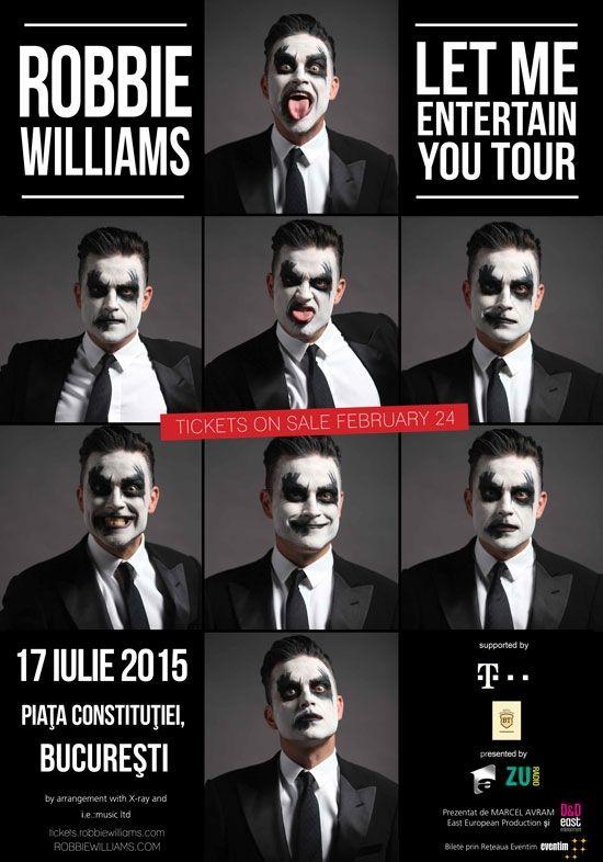 Robbie Williams Live la Bucuresti in Piata Constitutiei