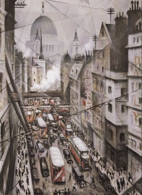 Christopher Nevinson: Among the Nerves of the World, 1930.