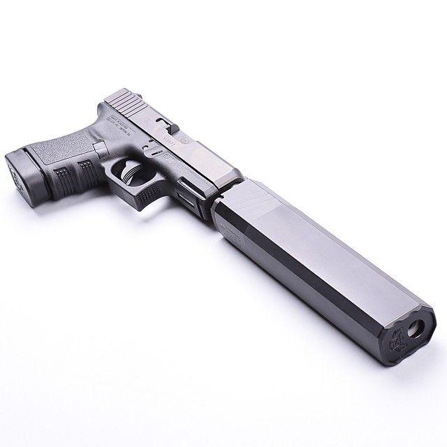 .45 Sub Compact Glock 30 w/ Osprey suppressor and a Stormlake Barrel. Accepts Glock 21 mags.