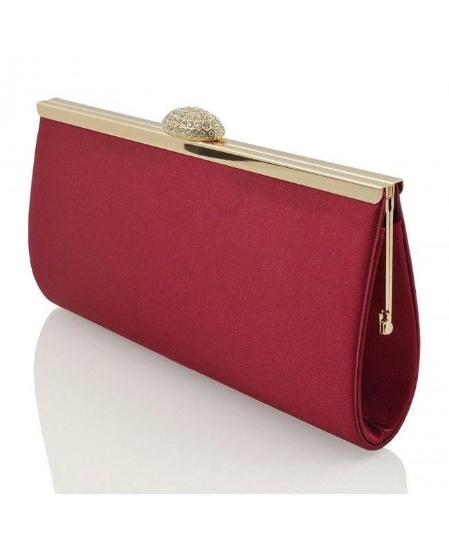 Luxury stylish ladies chic mini wallet pouch purse clutch bag card holder glam