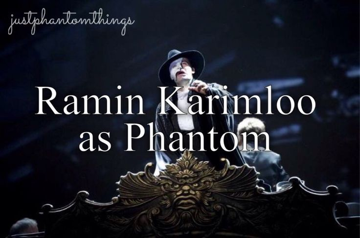 Ramin Karimloo best phantom