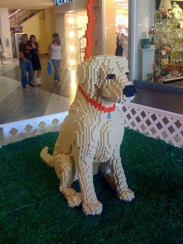 Máme rádi psy | GALERIE: 12 perfektních soch pejsků, které byly postaveny z Lega