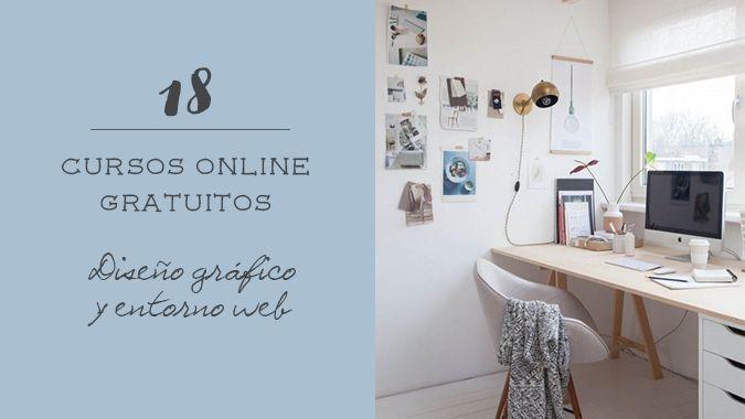 18 cursos gratuitos de diseño gráfico y entorno web. No hay excusa para no aprender!