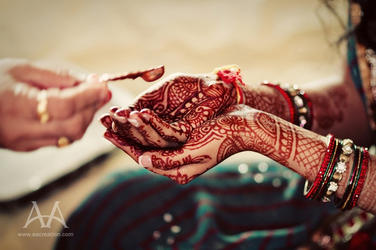 Henna. I love the idea of henna tattoos--beautiful and not a lifetime commitment.