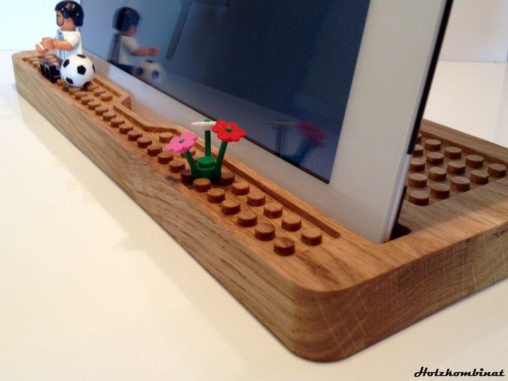 Tablet Halter Aus Holz Selber Bauen  Wohndesign