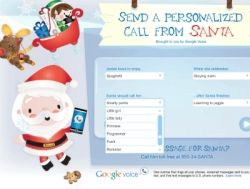 What's Santa's phone number at the North Pole? It's now easy to find. Google Voice has set up a free voicemail service for Santa Claus so anyone...