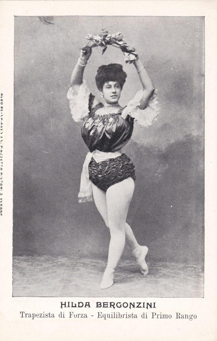 Hilda Bergonzini Italian Trapezist